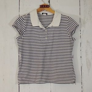 J. Crew Stripe Polo